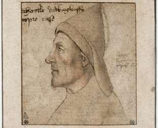 Портрет мужчины в профиль — Паоло Уччелло