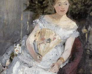 Portrait of Marguerite Carre (also known as Young Girl in a Ball Gown) — Берта Моризо