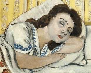 Portrait of Margurite sleeping — Анри Матисс