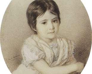 Мария Кикина в детстве — Карл Брюллов