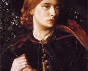 Portrait of Maria Leathart — Данте Габриэль Россетти