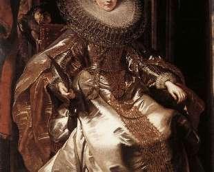 Portrait of Maria Serra Pallavicino — Питер Пауль Рубенс