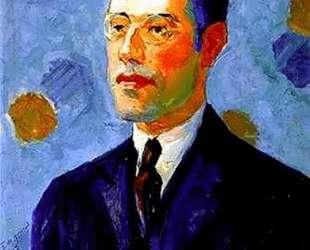 Portrait of Mario de Andrade — Тарсила ду Амарал