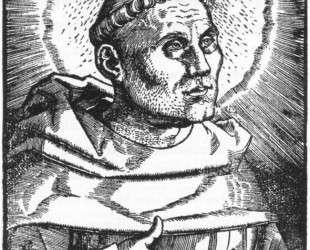 Портрет Мартина Лютера — Ханс Бальдунг