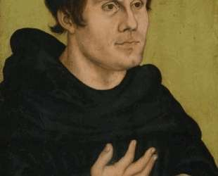 Портрет Мартина Лютера как монаха-августинца — Лукас Кранах Старший