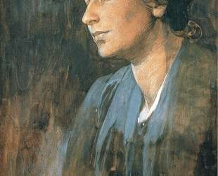 Portrait of Marushka, Artist s Wife — Альфонс Муха