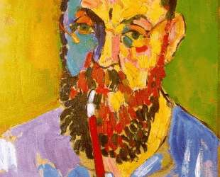 Portrait of Matisse — Андре Дерен