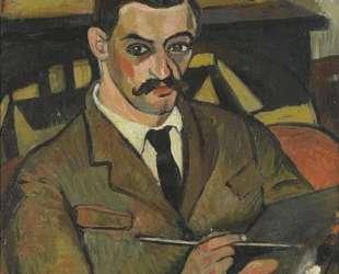 Portrait of Maurice Utrillo — Сюзанна Валадон