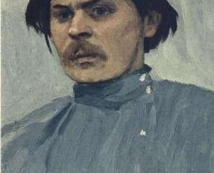 Portrait of Maxim Gorky — Михаил Нестеров