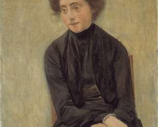 Portrait of Miss Hedwig Ruetz — Макс Либерман