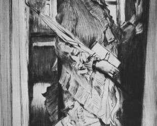 Portrait of Miss L. — Джеймс Тиссо