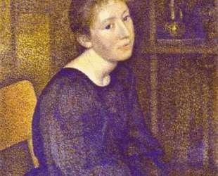 Portrait of Mme Lemmen — Жорж Леммен