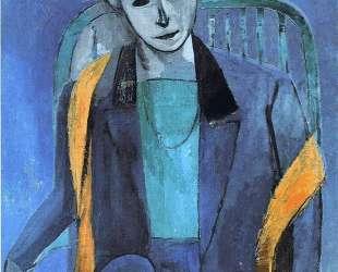 Portrait of Mme. Matisse — Анри Матисс
