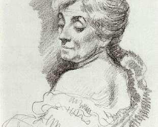 Portrait of Mme Van Rysselberghe — Тео ван Рейссельберге