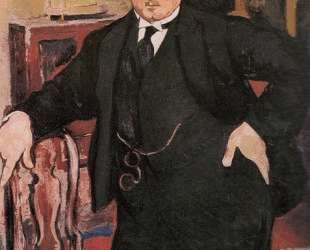 Portrait of Monsieur Mori — Сюзанна Валадон