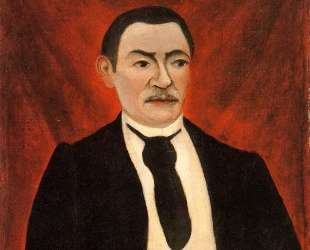 Portrait of Monsieur S — Анри Руссо