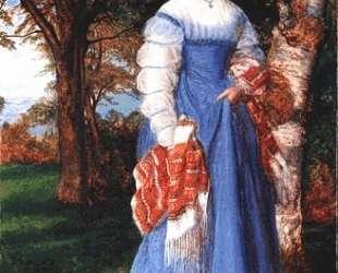 Portrait of Mrs. Louisa Jenner — Артур Хьюз