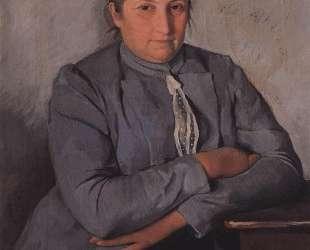 Портрет Е. Н.Лансере. Мама — Зинаида Серебрякова