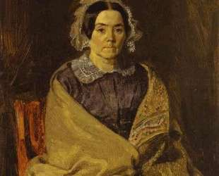 Portrait of N. P. Chernyshova — Павел Федотов