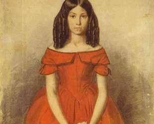 Portrait of N. P. Zhdanovich as a Child — Павел Федотов
