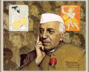 Portrait of Nehru — Норман Роквелл