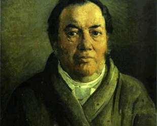Portrait of Nikolay O. Ge, Artist's Father — Николай Ге