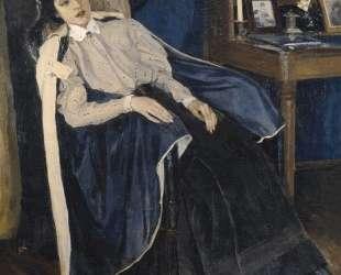 Портрет О. М.Нестеровой, дочери художника — Михаил Нестеров