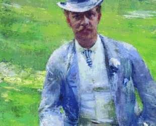Portrait of Octave Maus as Dandy — Тео ван Рейссельберге