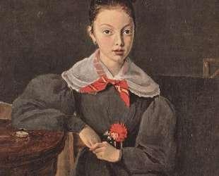 Портрет Октавии Сеннегон — Камиль Коро