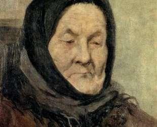 Портрет старухи — Григорий Мясоедов