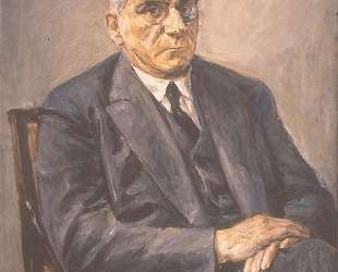 Portrait of Otto Braun — Макс Либерман