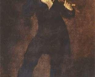 Портрет Паганини — Эжен Делакруа