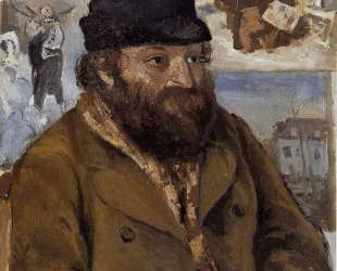 Portrait of Paul Cezanne — Камиль Писсарро