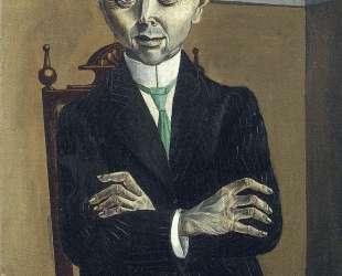 Portrait of Paul F. Schmidt — Отто Дикс