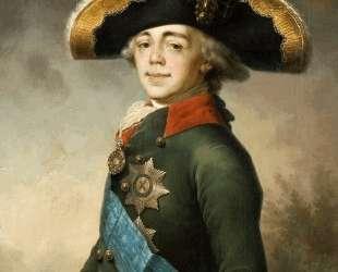 Портрет Павла I — Владимир Боровиковский