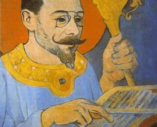 Portrait of Paul Ranson Dressed as a Prophet — Поль Серюзье