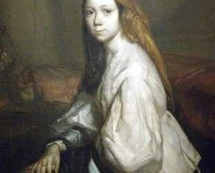 Портрет Паулины Оно — Жан-Франсуа Милле