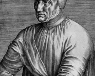 Portrait of Pope Eugene IV — Жан Фуке