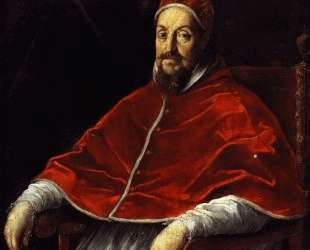 Portrait of Pope Gregory XV — Гвидо Рени