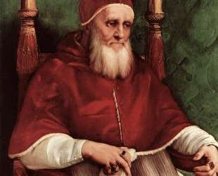 Portrait of Pope Julius II — Рафаэль Санти