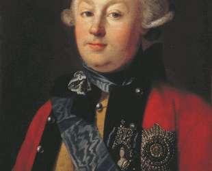 Portrait of Prince G. G. Orlov — Карл Людвиг Христинек