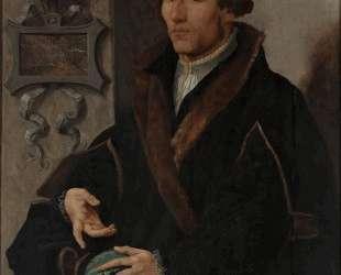 Portrait of Reinerus Frisius Gemma — Мартен ван Хемскерк