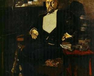 Portrait of S. Mamontov, the Founder of the First Private Opera — Михаил Врубель