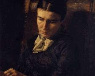 Portrait of Sarah Ward Brinton — Томас Икинс
