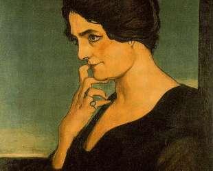 Портрет сеньоры Гартцен — Джорджо де Кирико