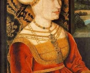 Portrait of Sibylla (or Sybilla) von Freyberg (born Gossenbrot) — Бернхард Штригель