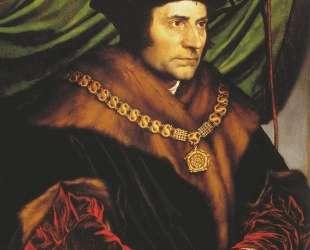 Portrait of Sir Thomas More — Ганс Гольбейн Младший