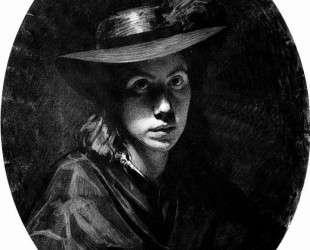Портрет Софьи Николаевны Крамской (в шляпе) — Иван Крамской