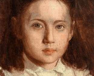 Portrait of Sonya Kramskaya, the Artist`s Daughter — Иван Крамской