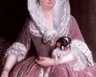 Portrait of Sophie Dorothea von Preu? en — Антуан Пэн